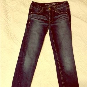 American Eagle jeggings, jeans, stretch, skinny 2